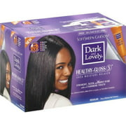 Dark and Lovely Healthy-Gloss Shea Butter Relaxer, Regular 1 ea (Pack of 3)