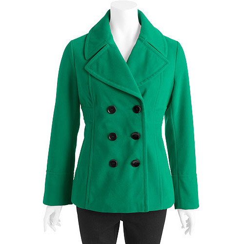 Women's Faux Wool Peacoat