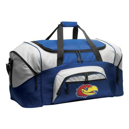 University of Kansas Duffel or Kansas Jayhawks Luggage