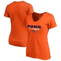 Phoenix Suns Fanatics Branded Women's Script Assist T-Shirt - Orange