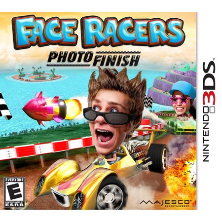3DS FACE RACERS: PHOTO FINISH