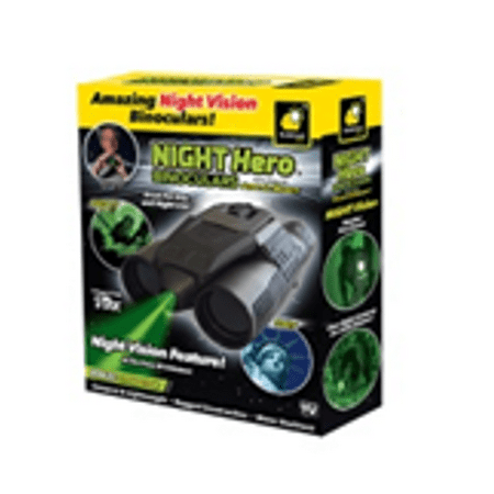 Night Hero Binoculars, As Seen on TV (Best Binoculars For Surveillance)