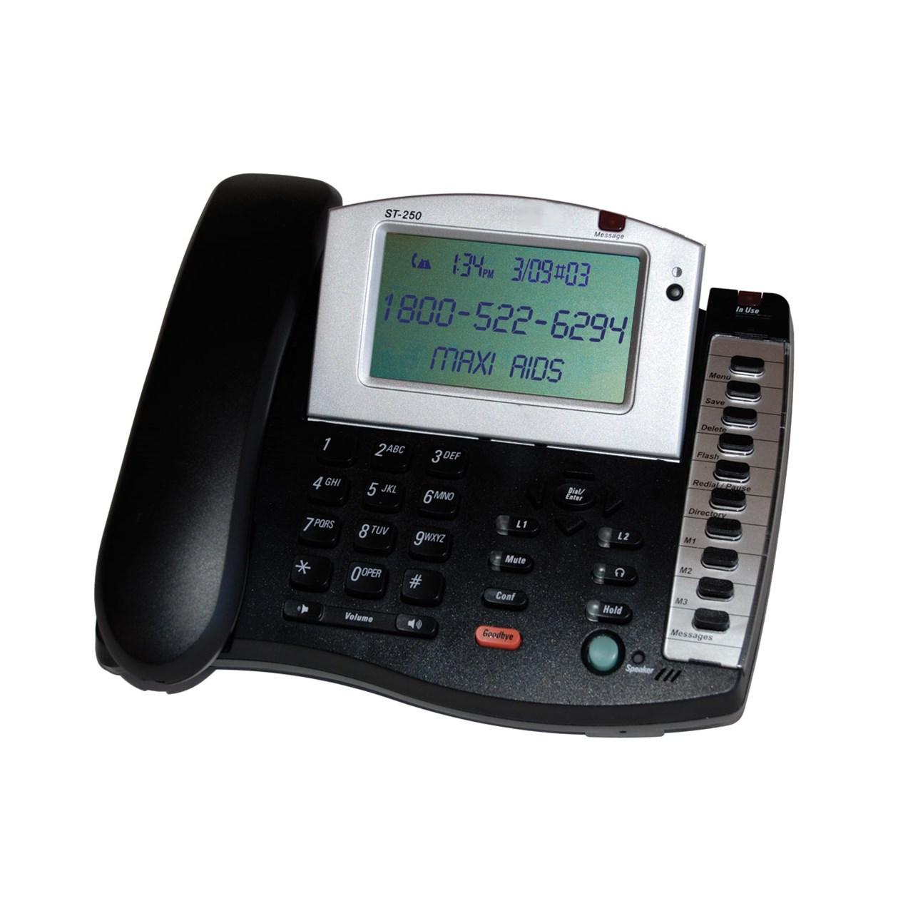Fanstel 2-Line Amplified Business Speakerphone - 50dB