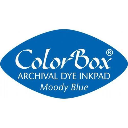 6 x ColorBox Cat's Eye Ink Pad Moody Blue