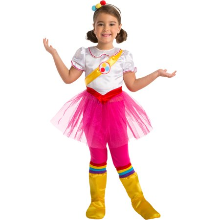 AFG Media Ltd True and the Rainbow Kingdom True Costume for Children, Includes Dress, Backpack, and More](Radio City Rockette Costume)