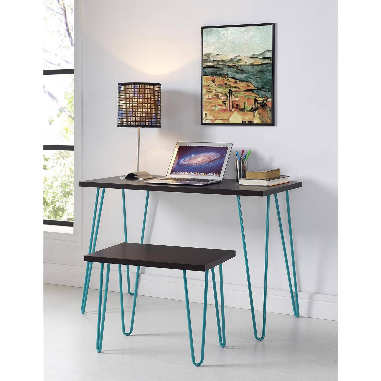 altra furniture owen student writing desk multiple colors walmartcom black desk vintage espresso wooden