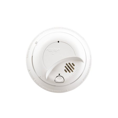 First Alert SA9120BPCN 120V AC Hardwired Smoke Alarm with Adapter Plugs