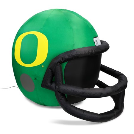 NCAA Oregon Ducks Team Inflatable Lawn Helmet, Green, One Size - Helmet Inflatable