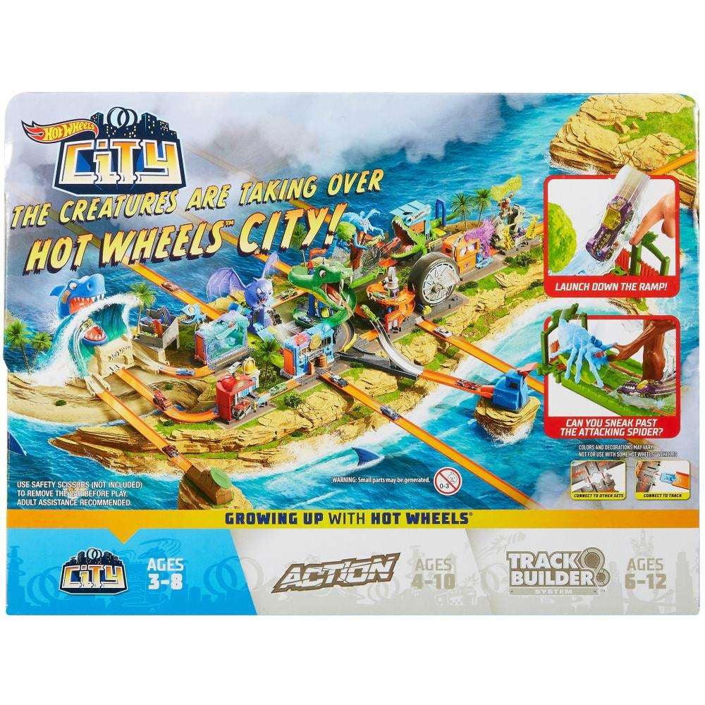 Hot Wheels City Spider Park Attack Playset