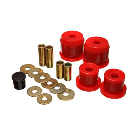 Energy Suspension 00-09 Honda S2000 Red Rear Differential Carrier Bushing Set