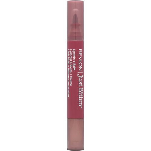 Revlon Just Bitten Lipstain + Balm, Midnight, .14 oz