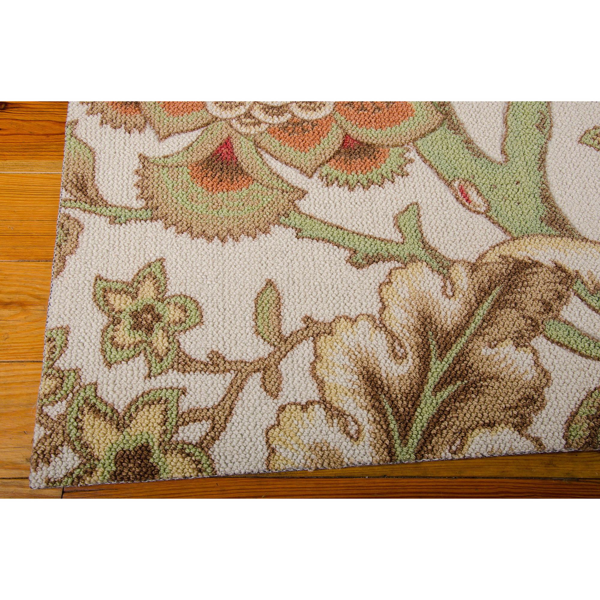 waverly rugs - nourison waverly global awakening imperial dress polyester rug