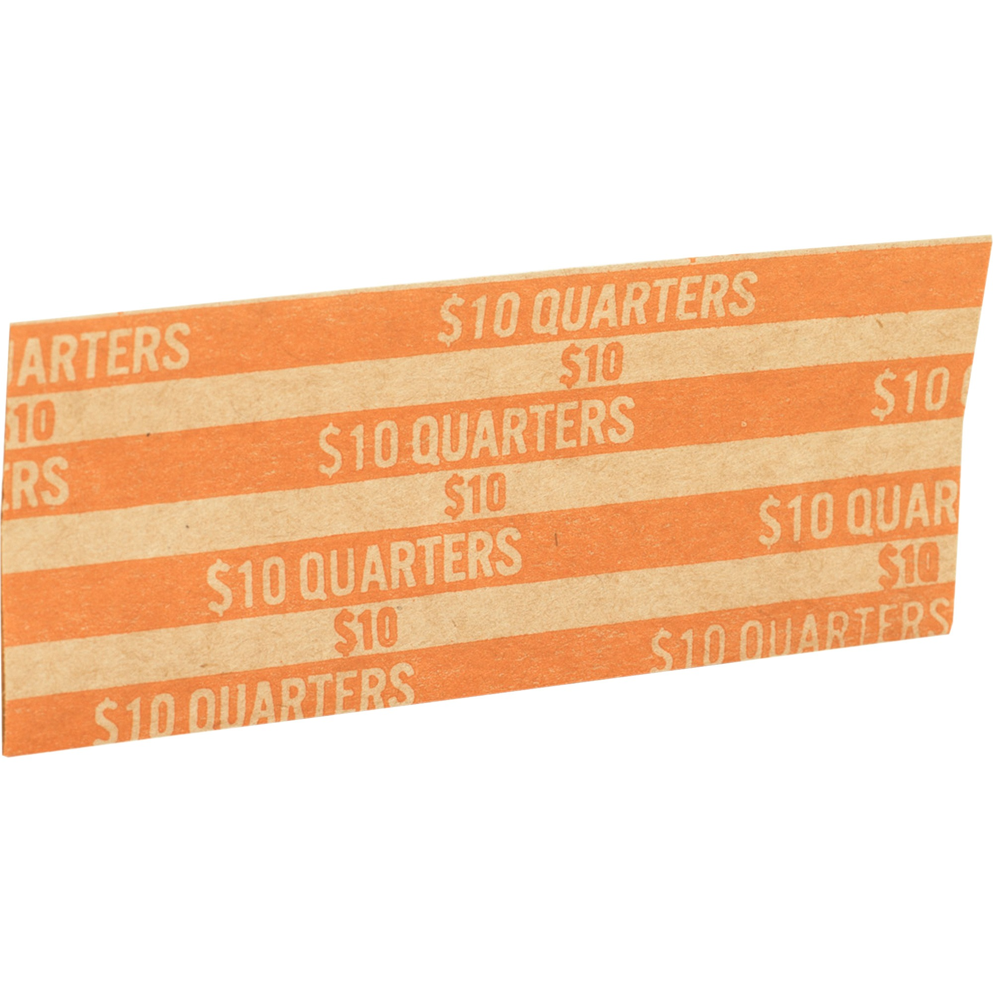 Sparco Flat Coin Wrappers, Quarters, 1000 per Box