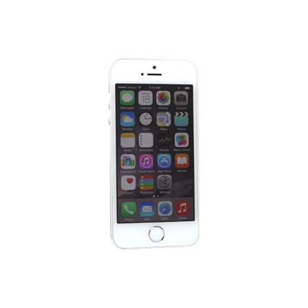 apple iphone 5s 32gb silver gsm unlocked smartphone refurbished. Black Bedroom Furniture Sets. Home Design Ideas