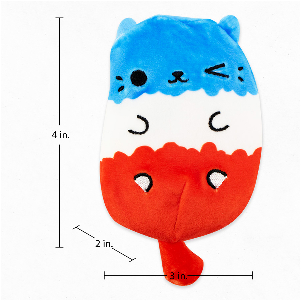 Jelly Bean New in Hand Cats Vs Pickles soft plush
