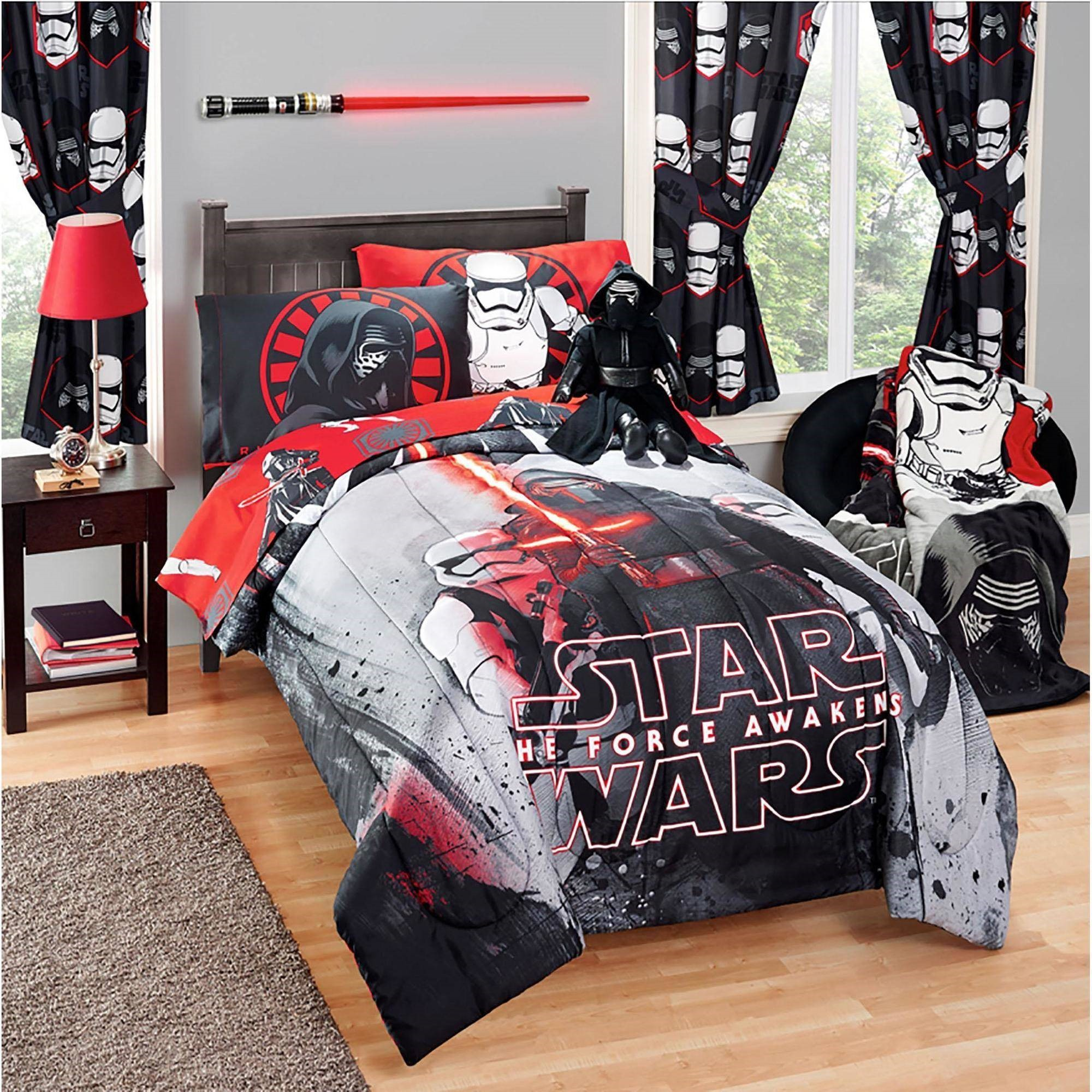 Star War Episode VII Twin Full Comforter by Jay Franco