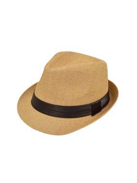 Product Image Classic Tan Fedora Straw Hat 1c63591dad27