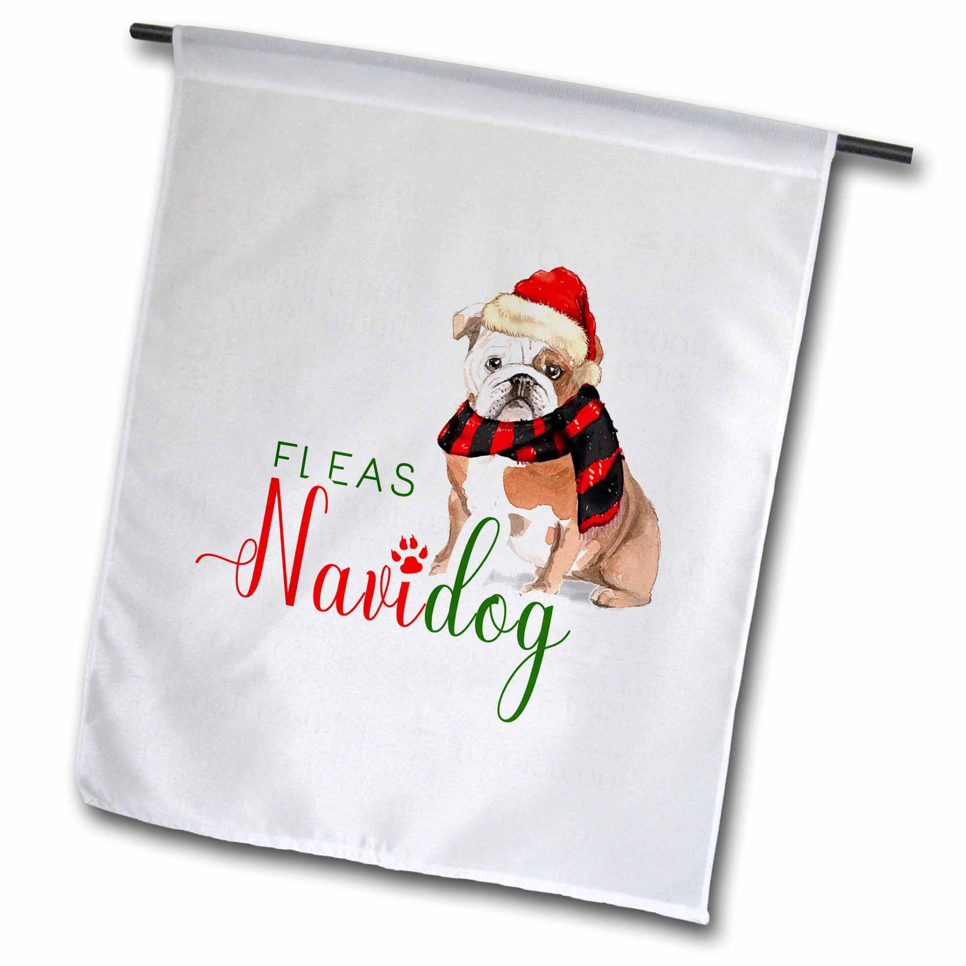 English Bulldog Funny Christmas Humor