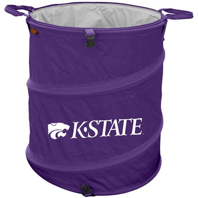 Logo Chair 158-35 Kansas State Trash Can