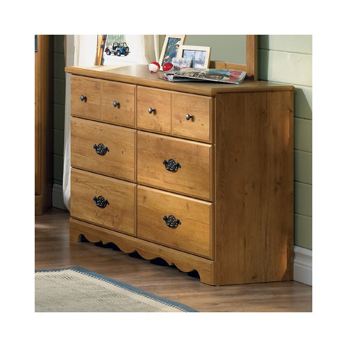 Bundle-22 South Shore Roslindale 6 Drawer Double Dresser (Set of 2)