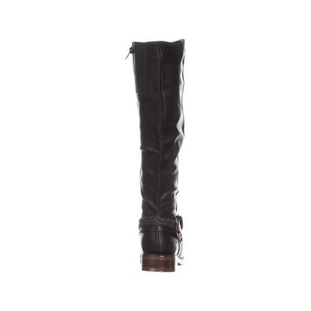 XOXO Mauricia Tall Riding Boots, Black - image 5 de 6