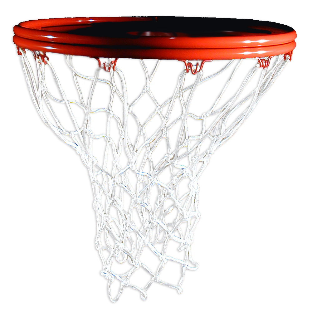 CSI Cannon Sports White Nylon Basketball Net