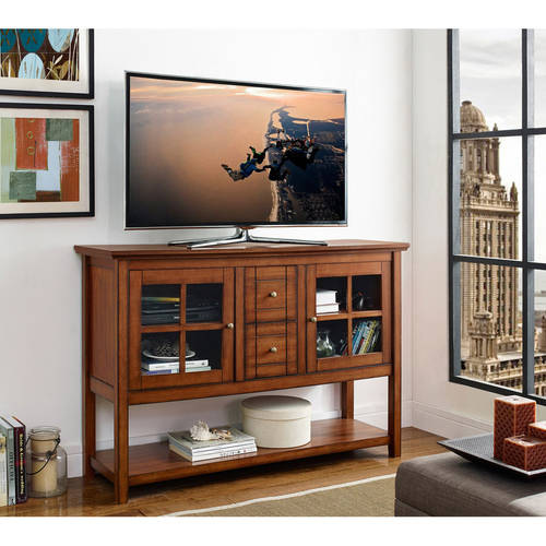 "52"" Wood Console Table Buffet TV Stand for TV's up to 55\ by Walker Edison"