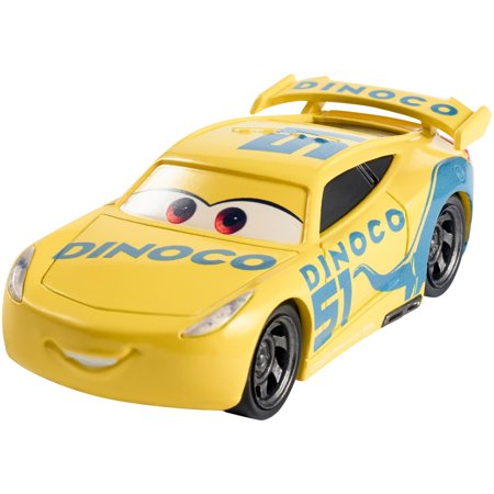 disney pixar cars 3 dinoco cruz ramirez die cast vehicle. Black Bedroom Furniture Sets. Home Design Ideas
