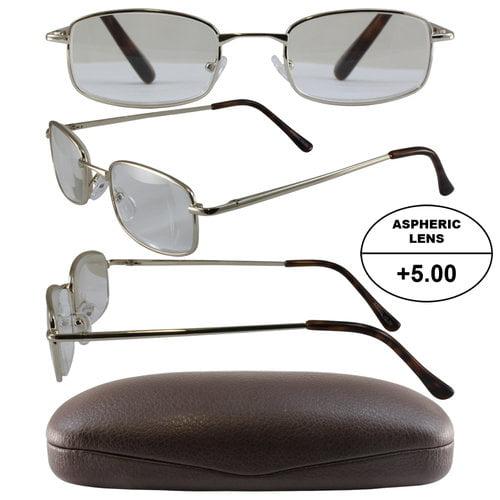 Birdz Readerz Mens 5x High Powered Reading Glasses