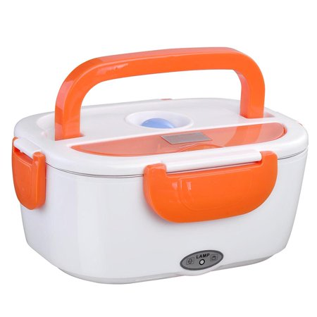 Yescom 1.5L Portable Electric Heating Lunch Box Food Storage Box with Removable Container ()