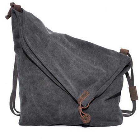 Coofit Hobo Bag Canvas Crossbody Bags Shouder Bag Messenger Bag ...