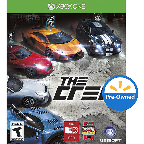 Ubisoft The Crew (Xbox One) - Pre-Owned