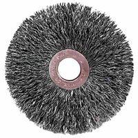 Copper Center™ Wire Wheel, 3 in D x 5/8 in W, .008 in Steel Wire, 20,000 rpm, Sold As 1 Each