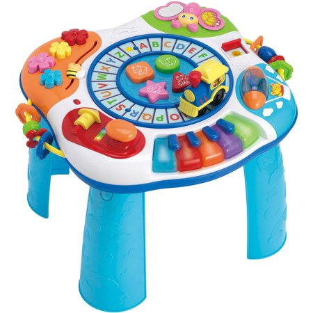 Winfun Letter Train and Piano Activity Table - This Is Halloween Piano Letters