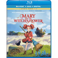 Mary and The Witch's Flower (Blu-ray + DVD + Digital)