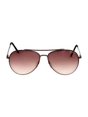 Kenneth Cole Reaction Metal Frame Gradient Brown Lens Men's Sunglasses KC13085908F