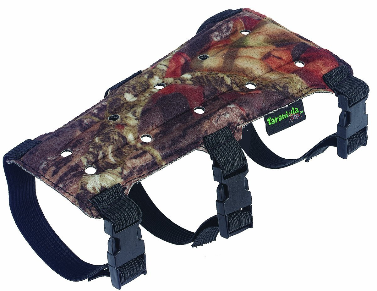 Archery Armguard Kids, Tarantula 9inch 3 Strap Ff Armguard Sleeve, Camo by Sportman's Outdoor Products
