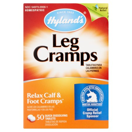 Hylands Homeopathic Leg Cramps Quick Dissolving Tablets  50 Count