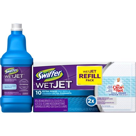 Swiffer Wet Jet Refill Pack 11 Pc Walmart Com