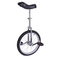 Akoyovwerve Ycjs001-Dlc-18-Silver 18In Wheel Unicycle - Chrome