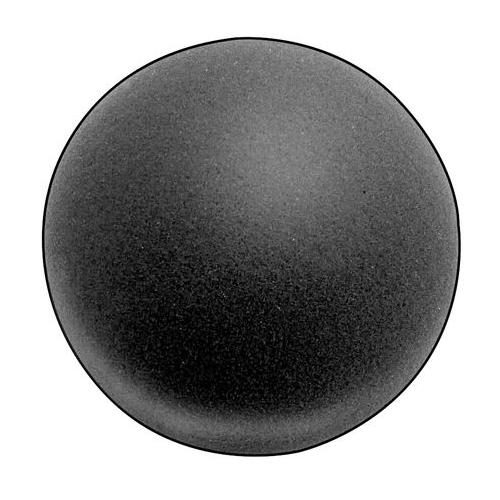5GCR5 Foam Ball, Polyether, Charcoal, 8 In Dia