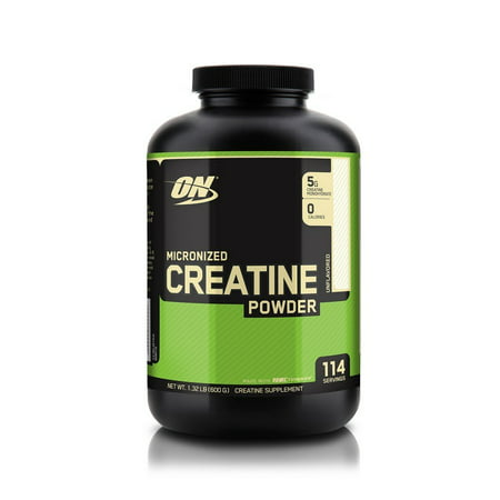 Optimum Nutrition Micronized Creatine Powder, 114 Servings