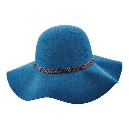 Scala Paper Braid - Women's Scala LW640 Ultrafelt Sun Hat with Braided Trim