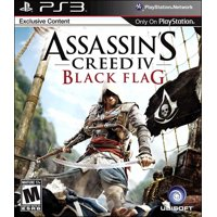 ps3 assassin creed iv blk flag ***