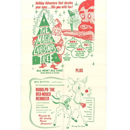 The Magic Christmas Tree POSTER (27x40) (1970) (Style B) ()