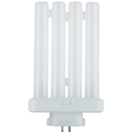 Tube Bulb, Four Tube 27 Watt 6500K 4-Pin Base Light Bulb FML27 Compact Fluorescent Light Bulb Base 6500k Daylight Fluorescent Tube