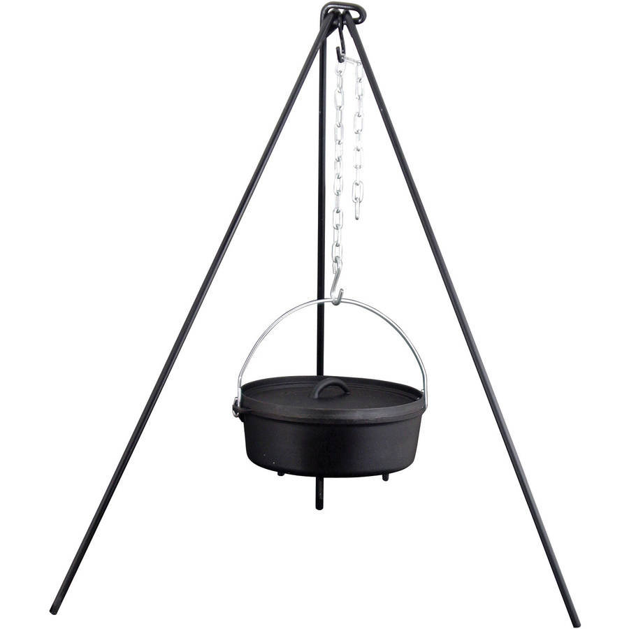 "Camp Chef 50"" Heavy Duty Cast Iron Dutch Oven Tripod"