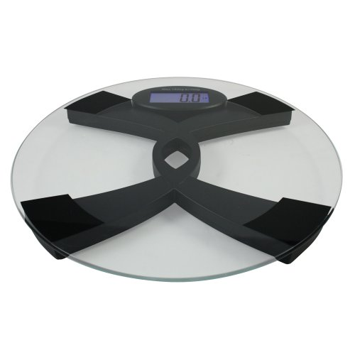American Weight Scales Amw396tbs Talking Bathroom Scale With  English/spanish Or Silent Mode