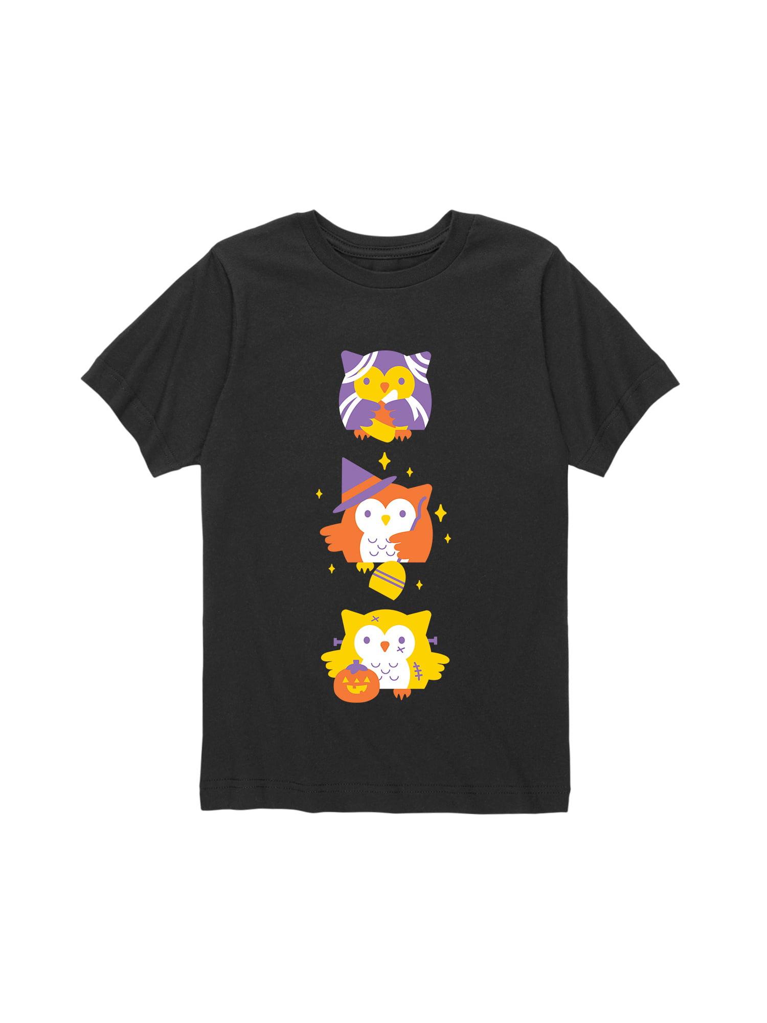 Halloween Owls - Toddler Short Sleeve Tee