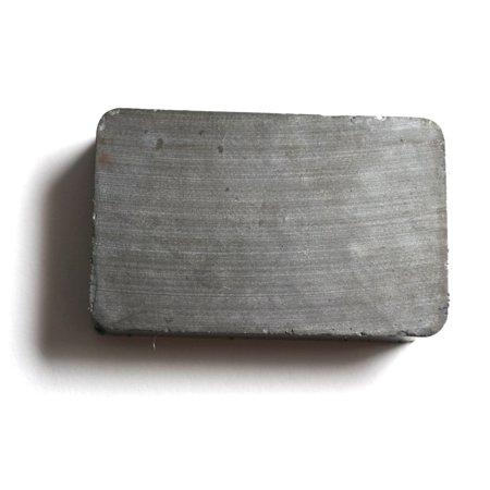 """Ceramic Magnet - 1"""" x 1.5"""" x 0.4"""" - Rectangle - Strong Magnet, Great for Physics Experiments, Crafts, or as Refrigerator Magnets - Eisco Labs"""
